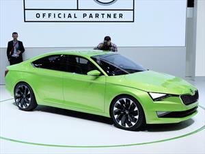Skoda VisionC Concept, ¿reinterpreta al Audi A7?