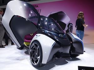Toyota i-Tril Concept debuta