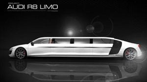 Audi R8 transformado en Limusina