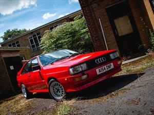 El Audi Quattro de Nigel Mansell sale a la venta