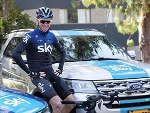 Ford, al lado del Team Sky, en el Tour Colombia 2.1