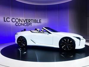 Lexus LC Convertible Concept, sensualidad que no conoce techo