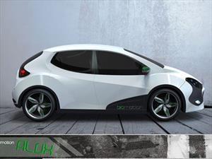 BioMotion ALUX Concept, un auto eléctrico mexicano