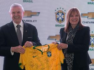 Chevrolet es el nuevo patrocinador de la selección brasileña
