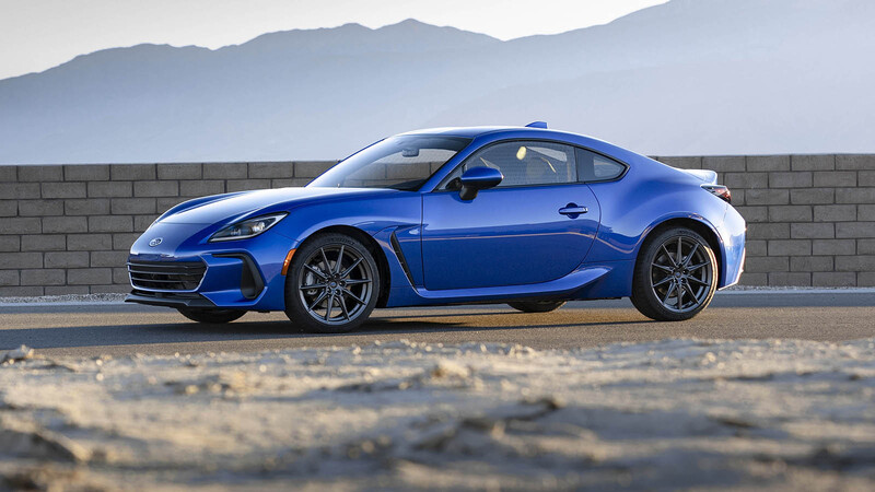 Subaru BRZ 2021: Mayor potencia y menor peso