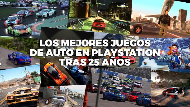 Los mejores juegos de auto de PlayStation tras 25 años