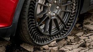 Olvidate del inflado, así serán las ruedas del futuro