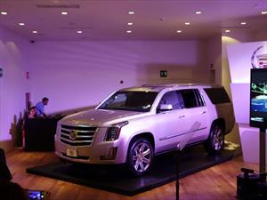 Cadillac Escalade 2015 llega a México desde $1,148,400 pesos