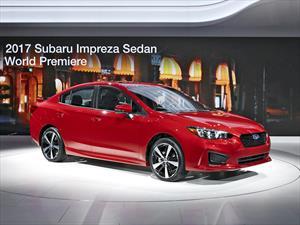 Subaru Impreza 2017: Se presenta en opciones sedán y hatchback