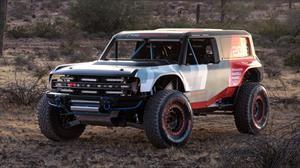 Ford Bronco R, además de participar en la Baja 1000, deja ver las formas de la nueva SUV