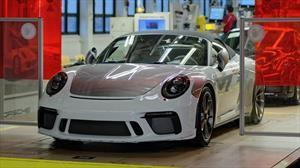 Finaliza la producción de la generación 991 del Porsche 911