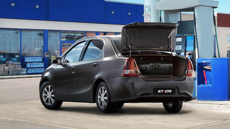 Toyota Etios Sedán con GNC y cobertura oficial