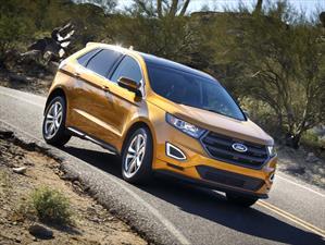 Ford Edge 2015 obtiene 5 estrellas en pruebas de impacto de la NHTSA