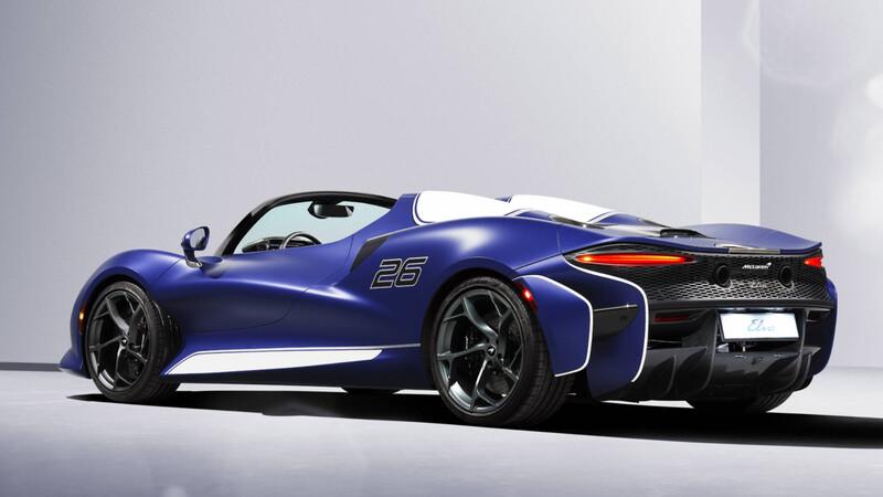 McLaren producirá una versión con parabrisas del Elva