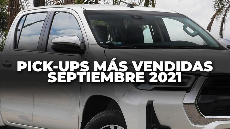 Top 10: Las pick-ups más vendidas de Argentina en septiembre de 2021