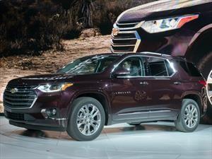 Chevrolet Traverse 2018 es el SUV con el mejor diseño del Auto Show de Detroit 2017