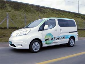 Nissan e-NV200 accionado por pilas de combustible de óxido sólido