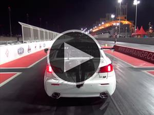 Un Lexus de 3,000 hp se accidenta de forma espectacular