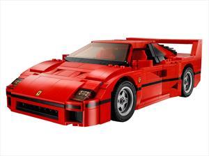 LEGO presenta un impresionante kit para armar la Ferrari F40