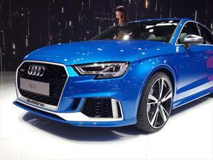 Audi RS3 debuta carrocería sedán en París