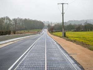 """Ruta Wattway, la primer carretera """"solar"""" del mundo"""