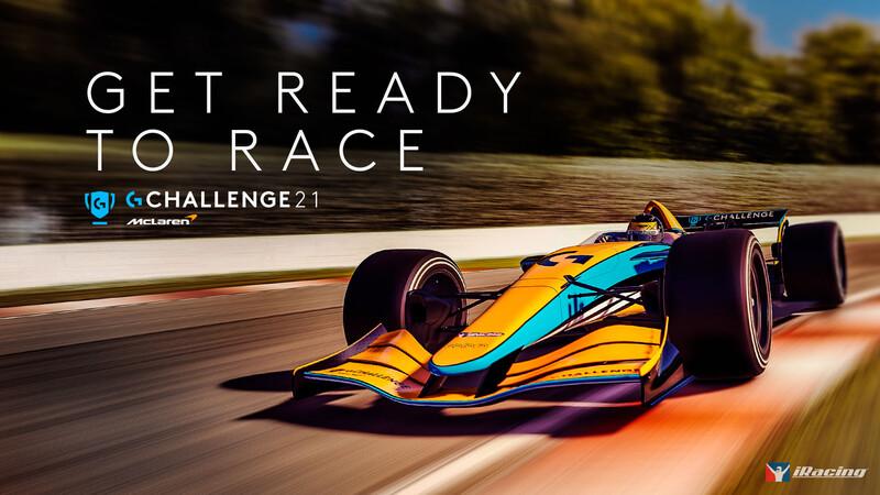 Logitech y McLaren anuncian la edición 2021 de la Logitech McLaren G Challenge
