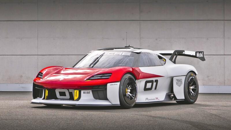 Porsche Mission R, un concepto pensando en los circuitos