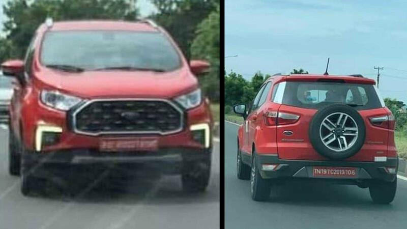 Ford EcoSport tiene nueva cara