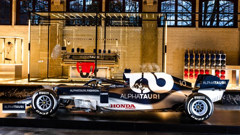 F1 2021: Alpha Tauri estrena nuevos colores