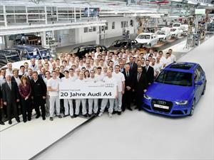 El Audi A4 cumple 20 años