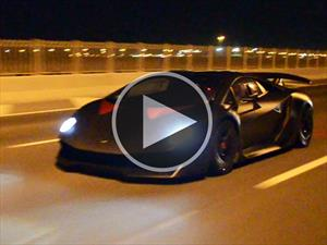 Video: Lamborghini Sesto Elemento en acción