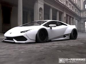 Lamborghini Huracán Liberty Walk LB Performance, más ancho y deportivo