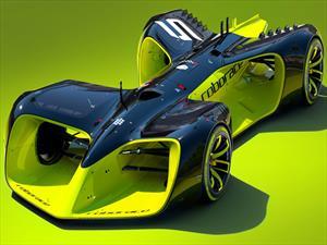 Roborace, un auto de carreras autónomo
