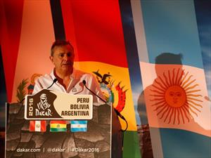 Dakar 2016 atravesará Argentina, Bolivia y Perú