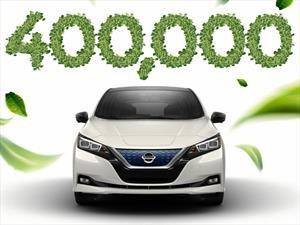 Existen más de 400 mil Nissan LEAF en el mundo