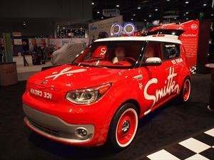 Smitten Ice Cream Soul EV, la máquina de helados de Kia