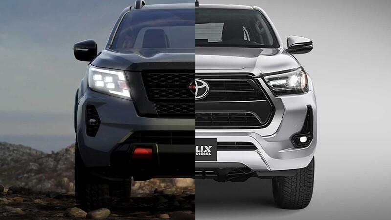 Nissan Frontier vs Toyota Hilux ¿cuál es mejor pickup mediana a la venta en México?