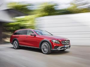 Mercedes-Benz E All-Terrain 2017: al ataque de Audi y Volvo