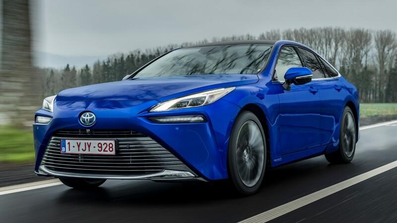 Toyota Mirai establece récord de autonomía para un vehículo a hidrógeno