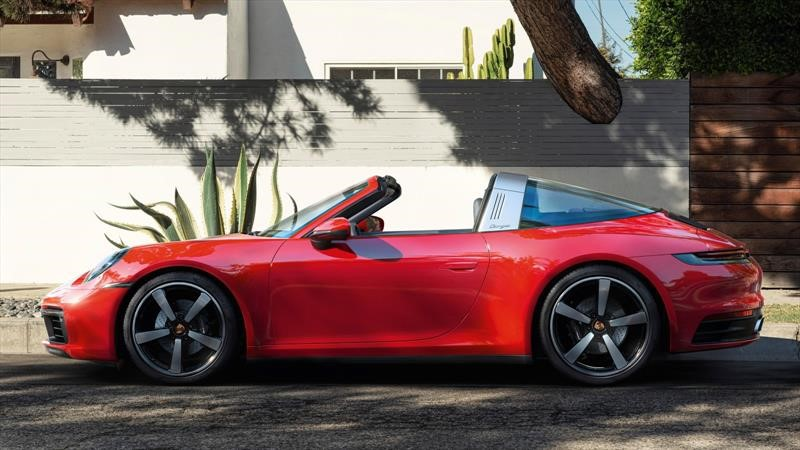 Porsche 911 Targa 2021: diseño, poder y tecnología al límite