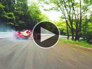 La magia del drifting capturada en video
