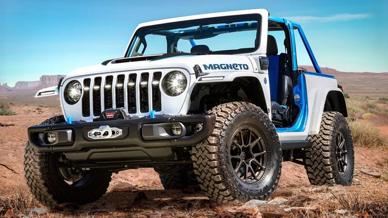 Jeep presentará su primer modelo 100% eléctrico en 2023