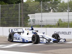 Primer Top 10 para Sebastián Saavedra en la IndyCar 2013