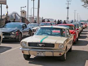 Guinness Récord en México: al desfile de Mustangs más grande del mundo