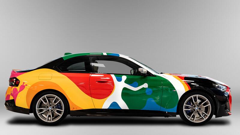 El BMW Serie 2, se convierte en una obra de arte mexicano