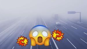 Esto es lo que debes de hacer si hay granizo, niebla o nieve en la carretera