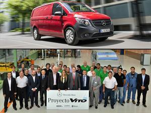 Mercedes-Benz Argentina suma 900 empleados para producir la Vito