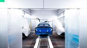 Así es el nuevo taller de pintura con inteligencia artificial de Lamborghini