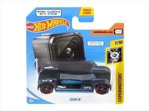 Hot Wheels Zoom In, es el auto ideal para tu GoPro