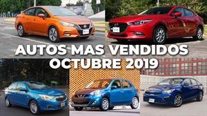 Los 10 autos más vendidos en octubre 2019